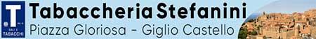 Tabaccheria Stefanini Giglio Castello Piazza Gloriosa