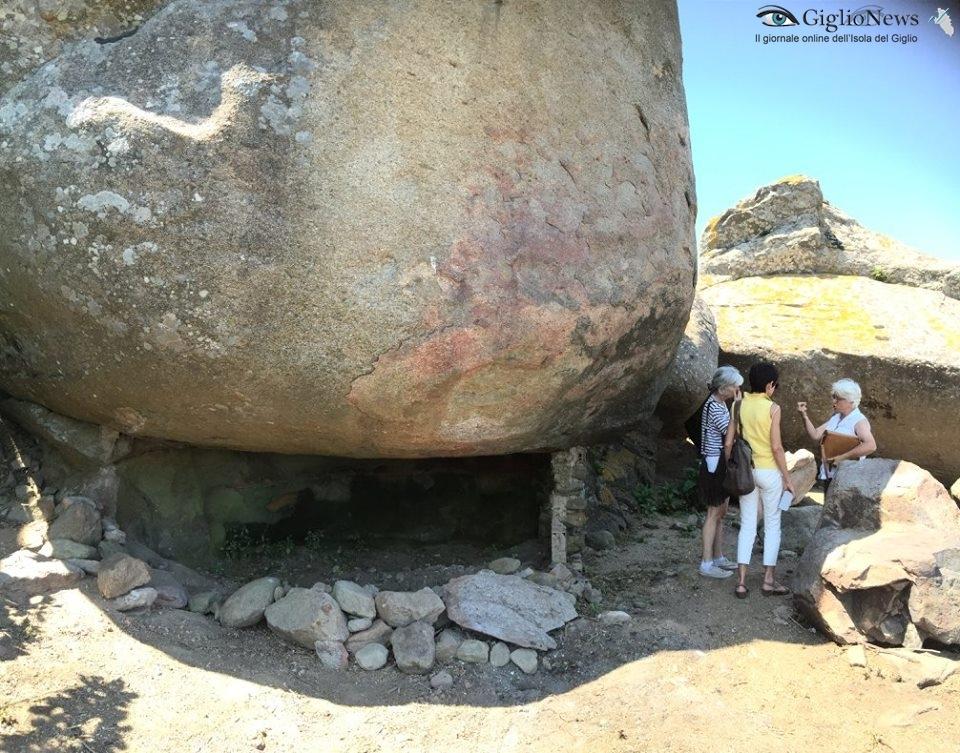 cote ciombella itinerario storico archeologico isola del giglio giglionews