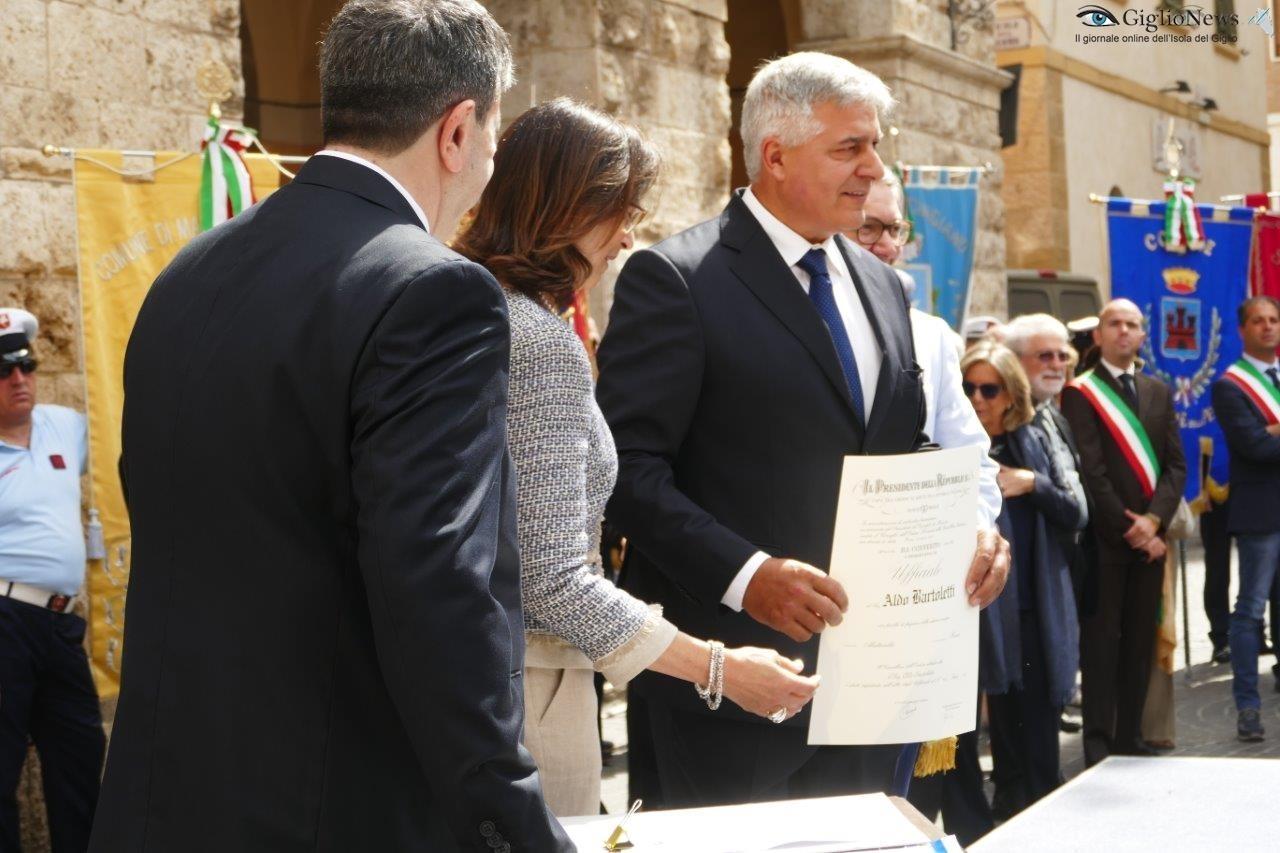 ufficiale merito repubblica festa grosseto isola del giglio giglionews