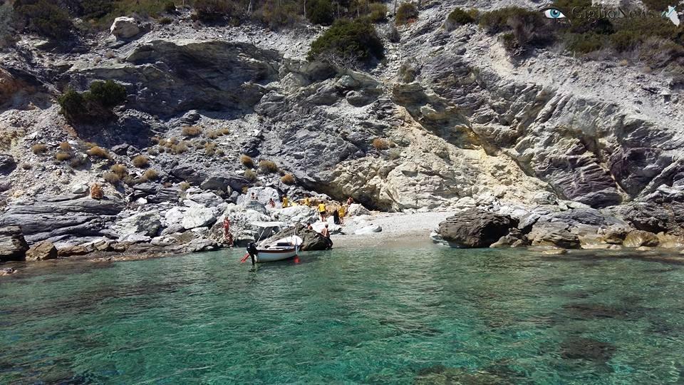 pulizia spiagge legambiente parco isola del giglio giglionews
