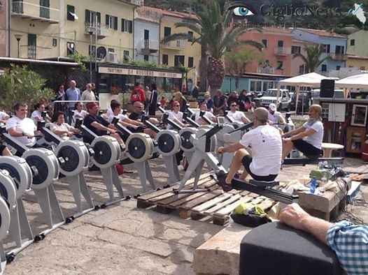 indoor rowing isola del giglio giglionews