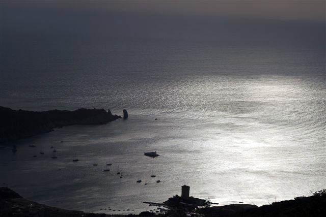 <p>Luci di tramonto al Campese</p>