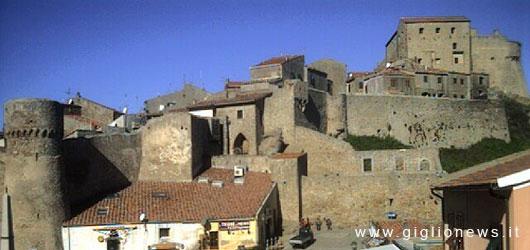 webcam isola del giglio castello