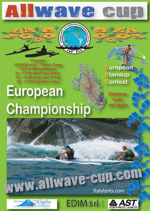 allwave cup gara canoe isola del giglio