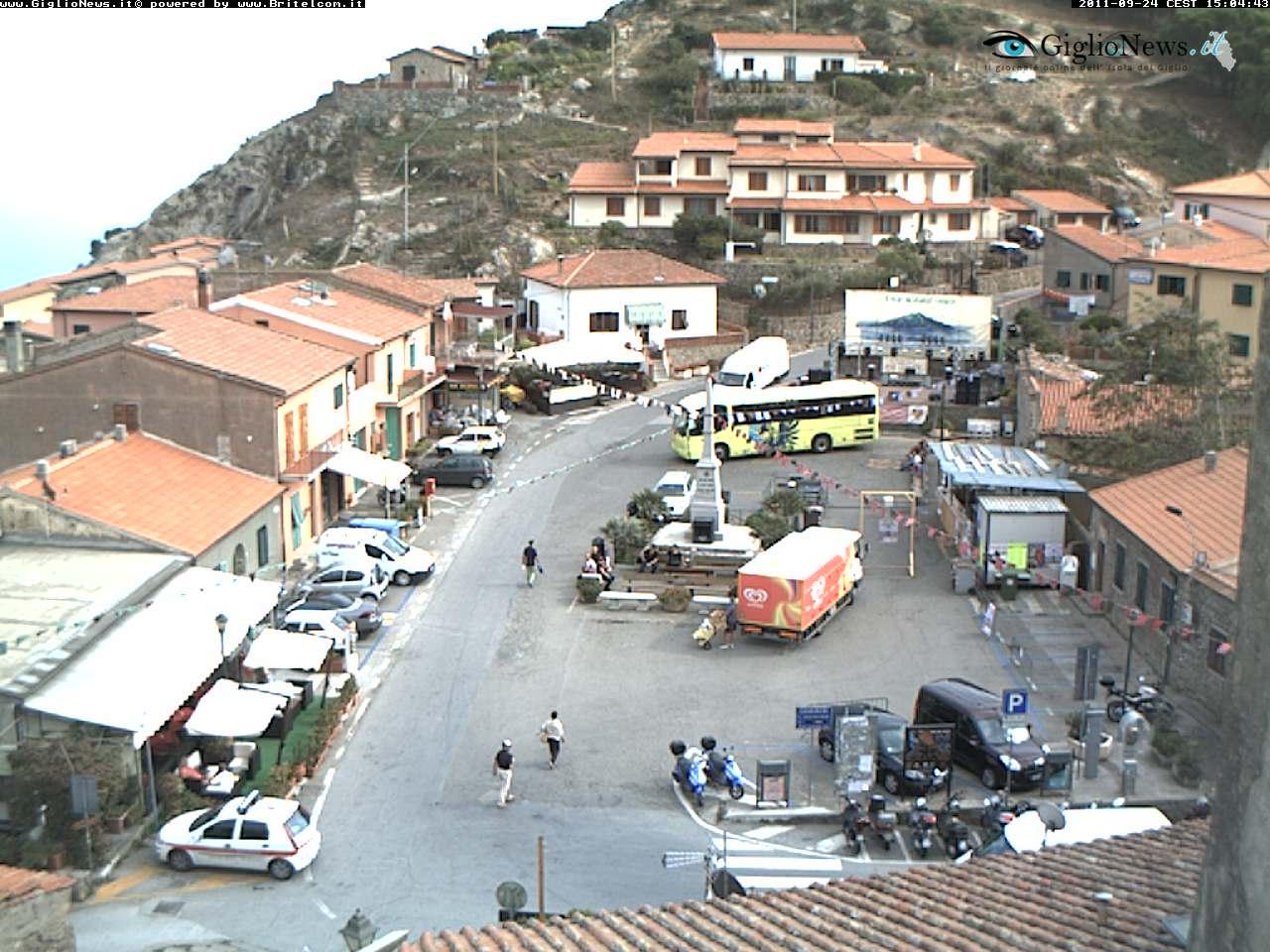 Webcam San Mamiliano Giglio Castello