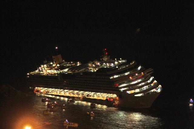 naufragio concordia notte isola del giglio giglionews