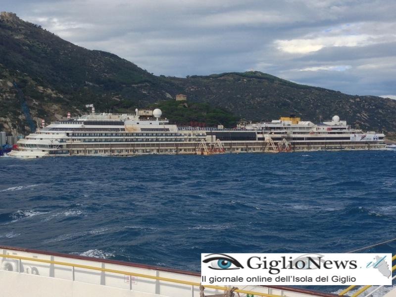 concordia osservatorio rimozione rigalleggiamento isola del giglio giglionews