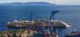 rotazione rimozione parbuckling concordia isola del giglio giglionews