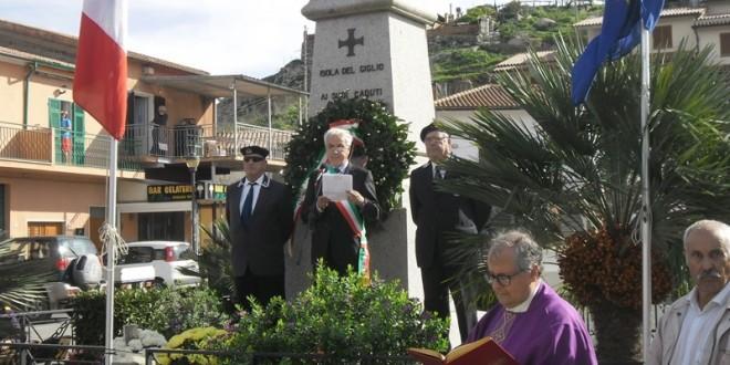 caduti forze armate 4 novembre isola del giglio giglionews