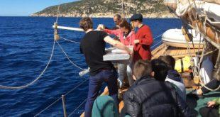 blue dream project lotta plastiche parco arcipelago toscano scuole isola del giglio giglionews