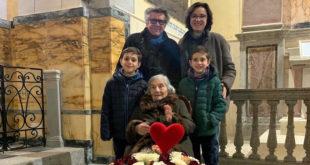 I familiari di Alda Maggiora ringraziano