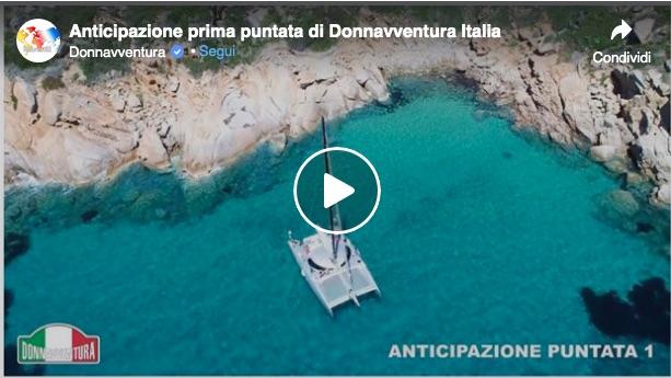 donnavventura rete4 anteprima programma tv isola del giglio giglionews arcipelago toscano