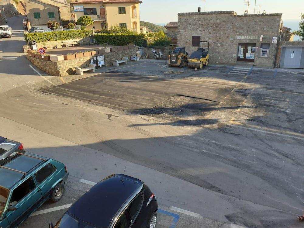 asfaltature stagionali isola del giglio giglionews