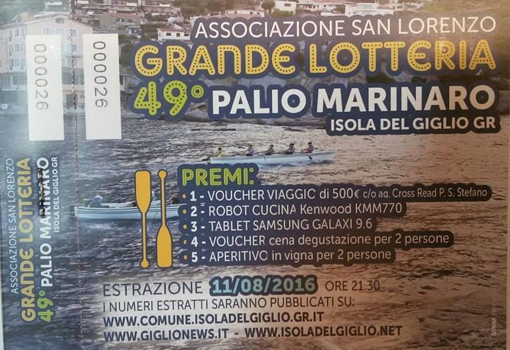 lotteria san lorenzo isola del giglio giglionews