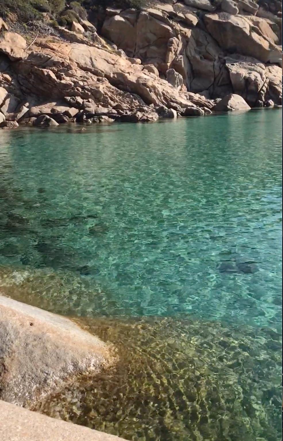 calette cala smeraldo isola del giglio giglionews