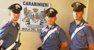 carabinieri droga isola del giglio giglionews