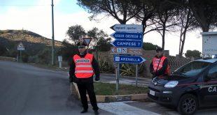 domiciliari carabinieri fermo droga arresto arresti isola del giglio giglionews