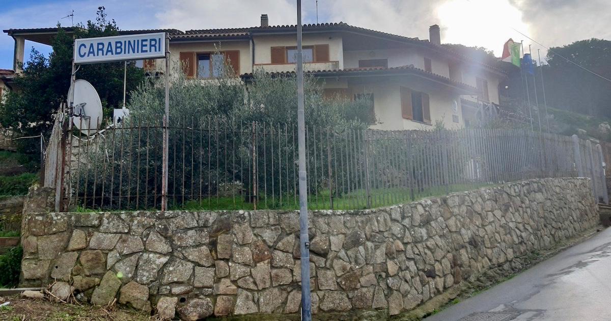 caserma carabinieri truffe isola del giglio giglionews