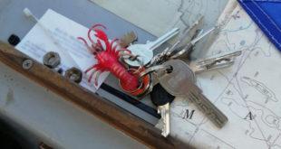 Ritrovato a Giglio Porto un mazzo di chiavi