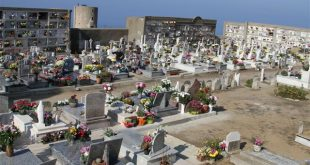 Le luci votive dei cimiteri