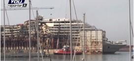 trasferimento concordia genova live youreporter isola del giglio giglionews
