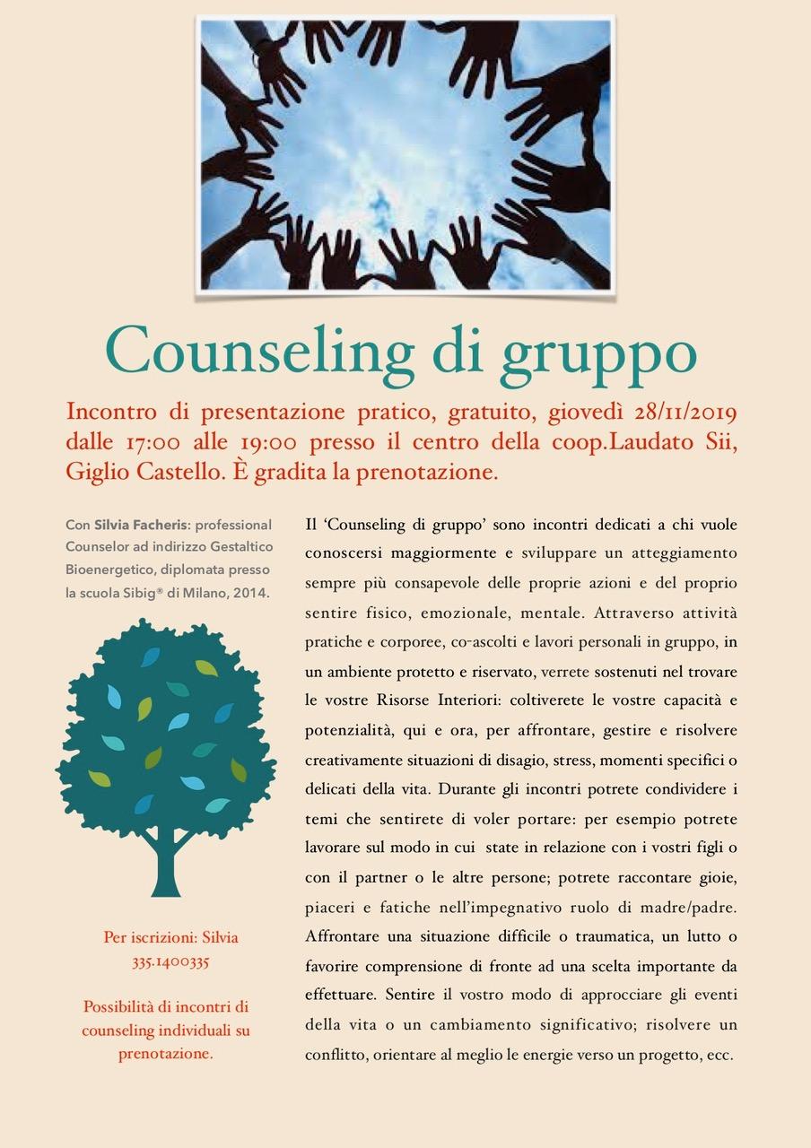 Counseling gruppo isola del giglio castello giglionews
