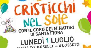 Cristicchi ed il Coro dei Minatori in ricordo di Maria Sole