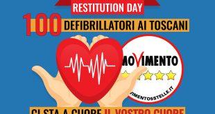 defibrillatore defibrillatori m5s movimento 5 stelle isola del giglio giglionews