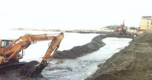 erosione ripascimenti ruspa spiagge isola del giglio giglionews
