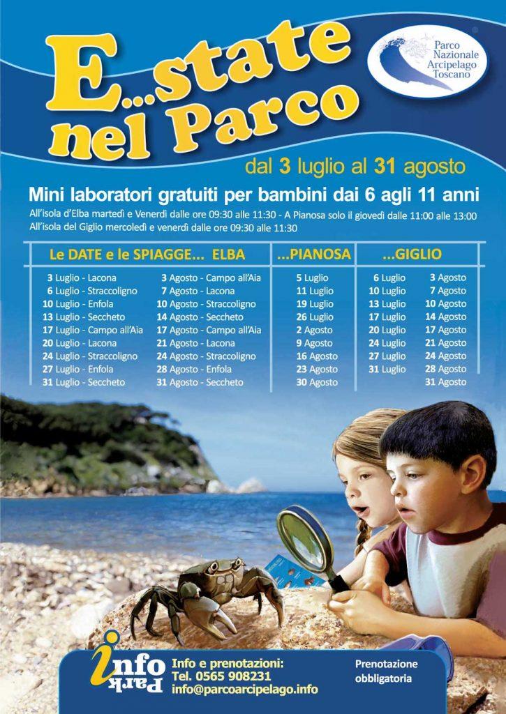 estate nel parco bambini isola del giglio giglionews