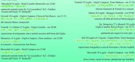 eventi pro loco mese luglio isola del giglio giglionews