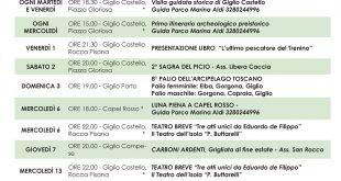 eventi settembre 2017 pro loco comune isola del giglio giglionews