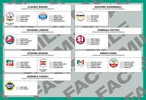 scheda elettorale regionali 2015 isola del giglio giglionews