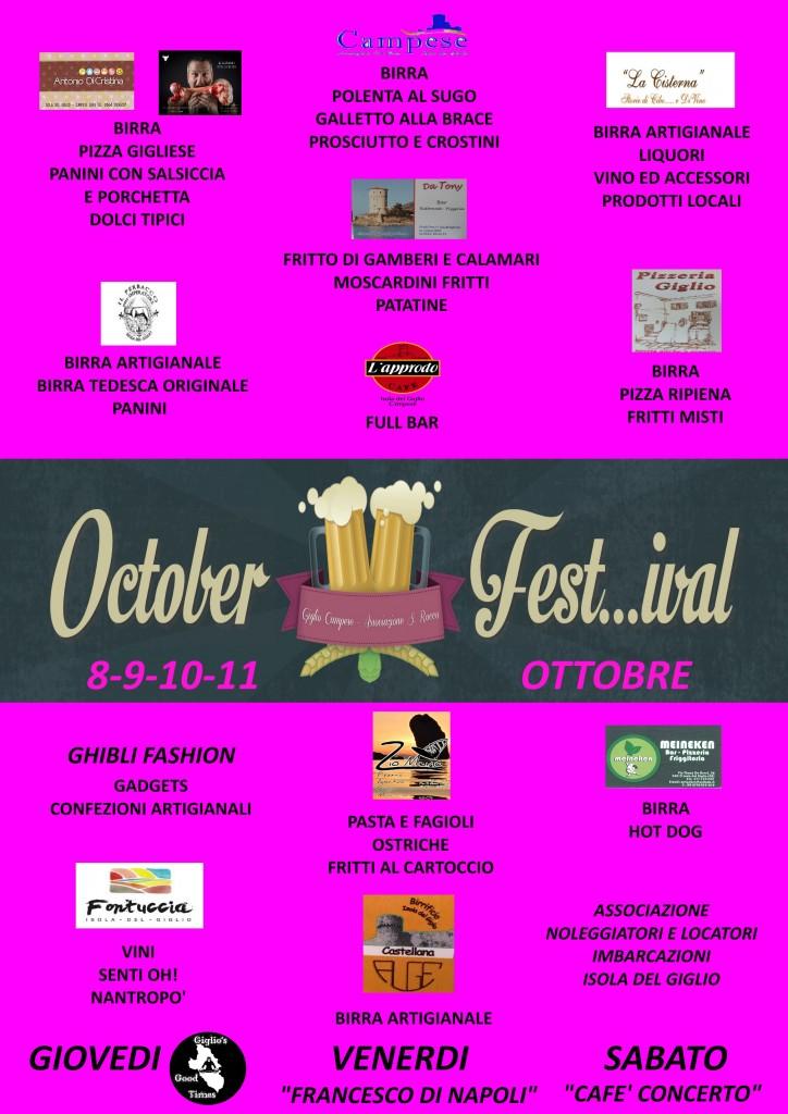 festa birra october festival isola del giglio campese
