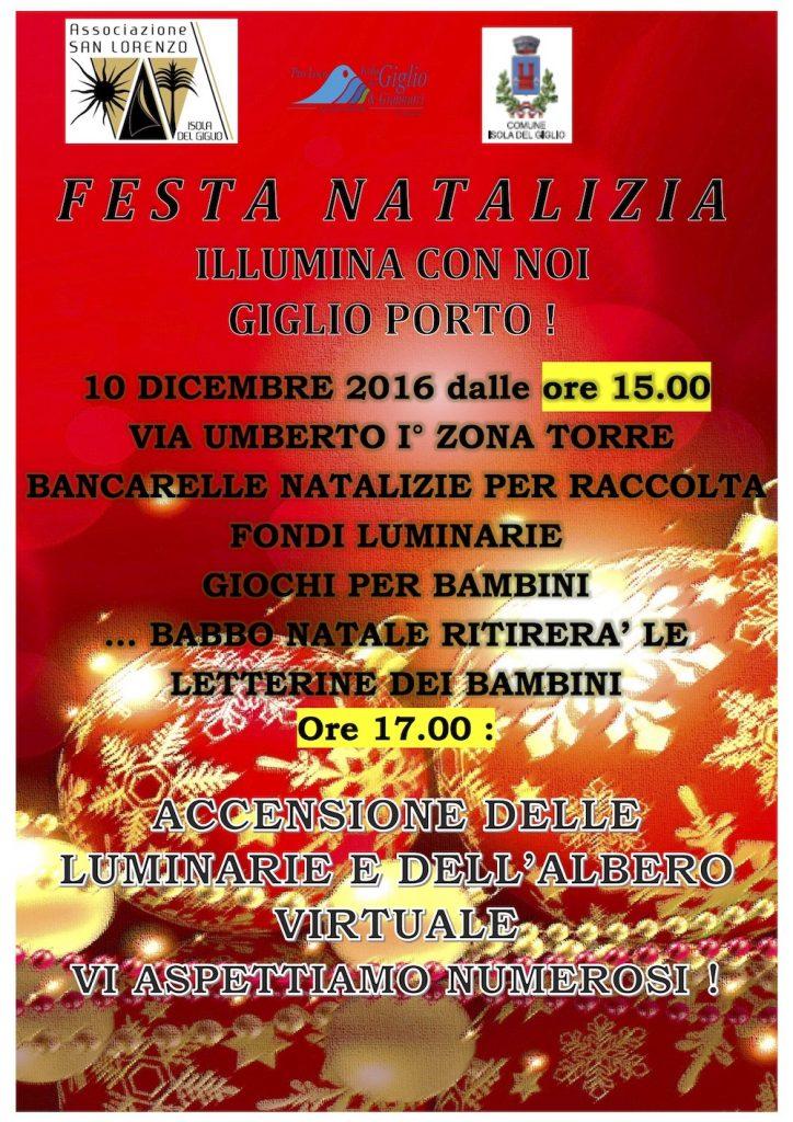 festa natalizia isola del giglio porto giglionews