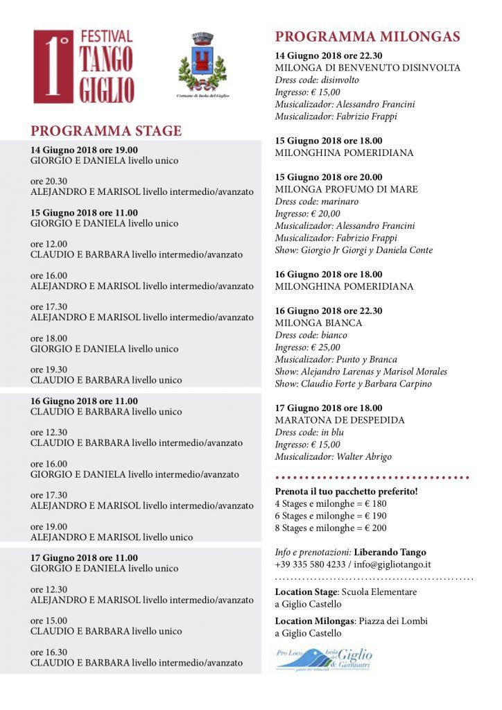 festival tango isola del giglio giglionews