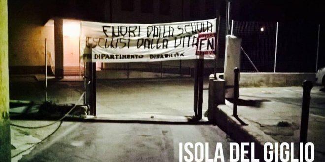 scuola forza nuova isola del giglio giglionews