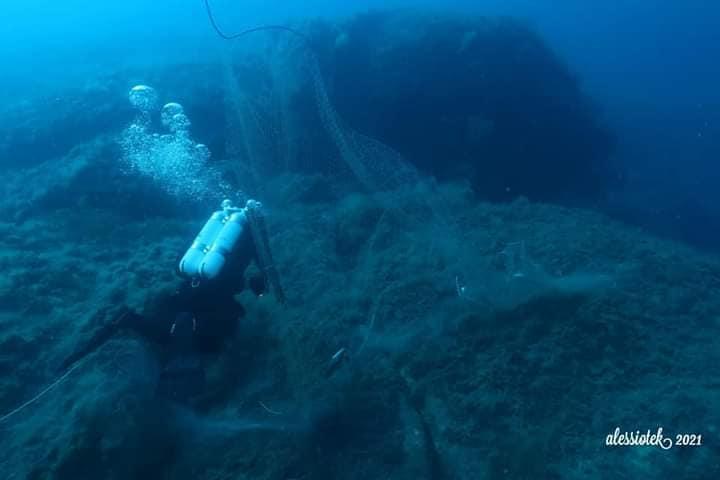 foto reti alessio sequenza isola del giglio giglionews