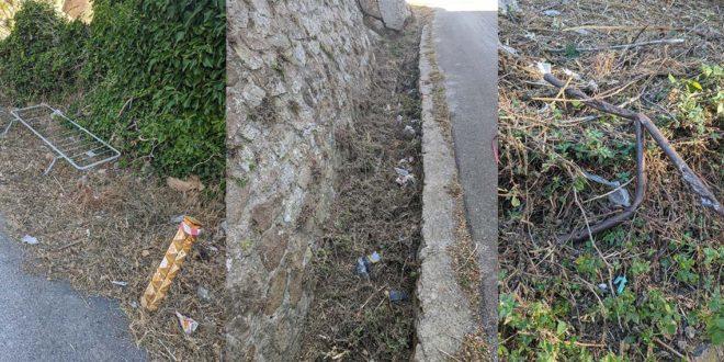 sporcizia isola del giglio castello giglionews