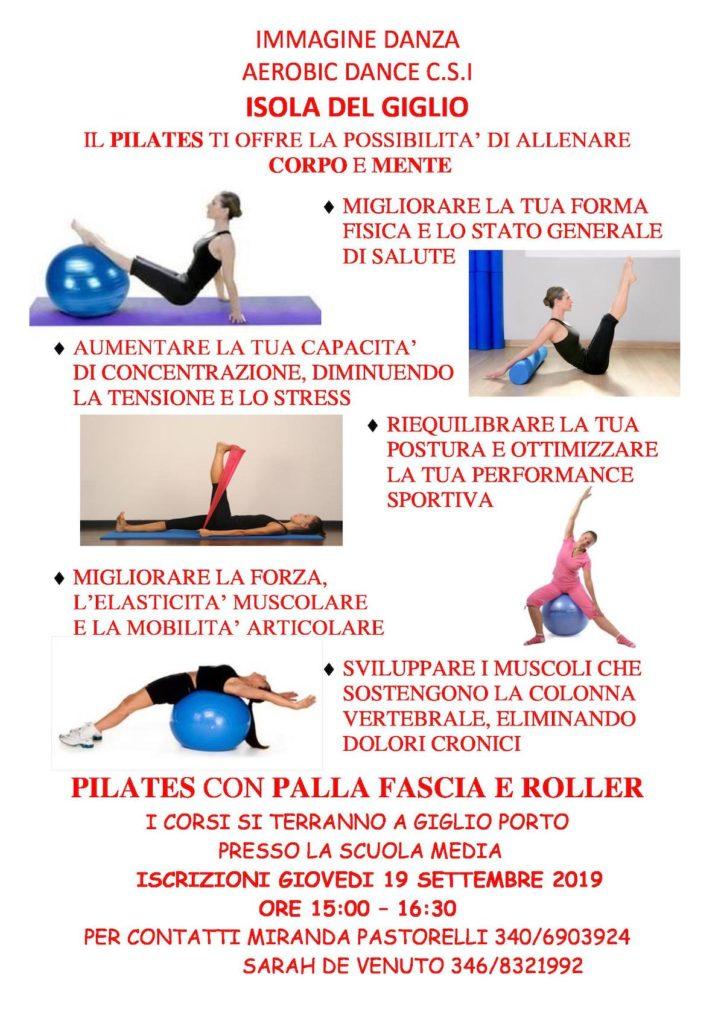 ginnastica danza pilates isola del giglio giglionews