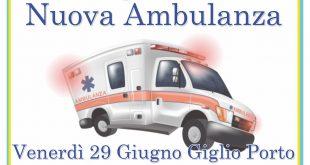 inaugurazione nuova ambulanza misericordia isola del giglio giglionews