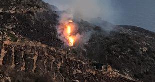 incendio parco isola del giglio giglionews