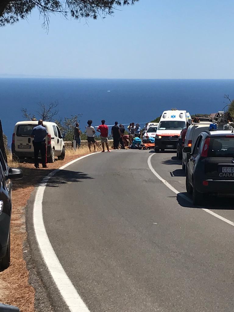 incidente stradale bicicletta bici isola del giglio giglionews