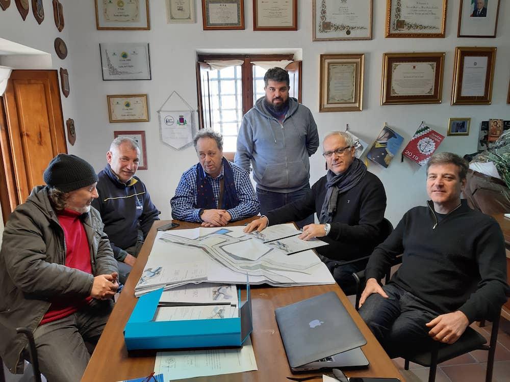 nuova piazza lavori pubblici comune isola del giglio campese giglionews