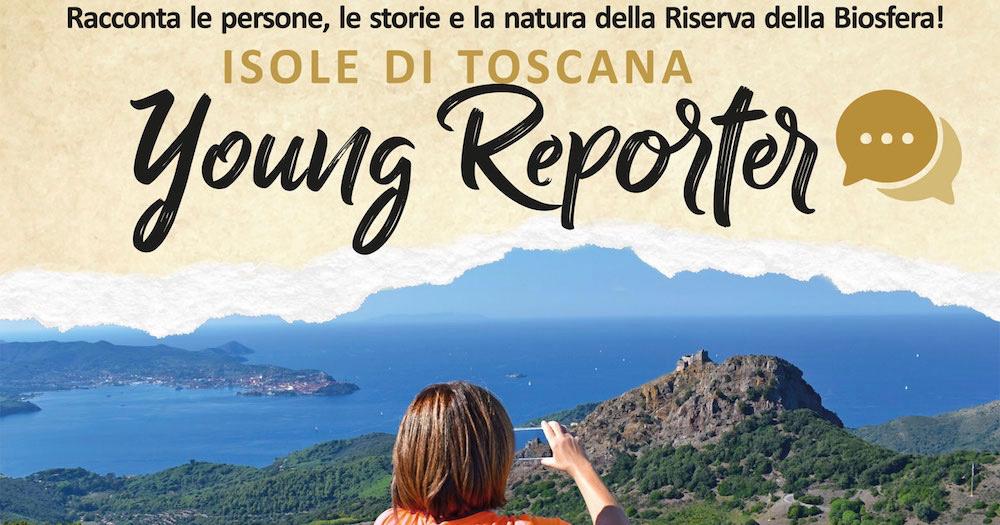 young reporter giovani parco arcipelago toscano isola del giglio giglionews