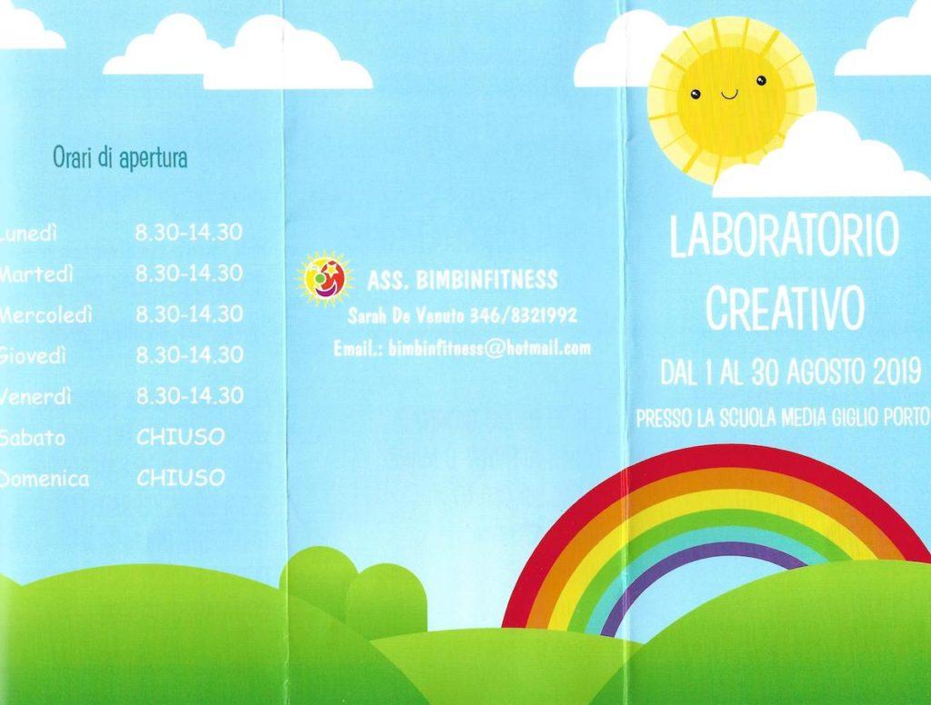 laboratorio creativo isola del giglio porto giglionews