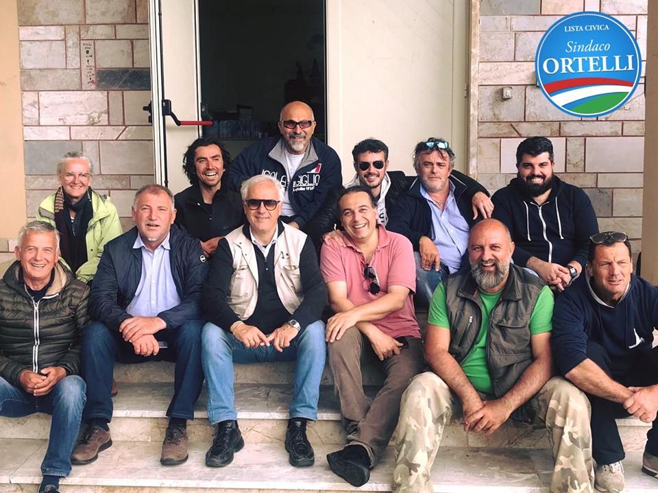 sindaco ortelli ringraziamenti lista civica isola del giglio giglionews
