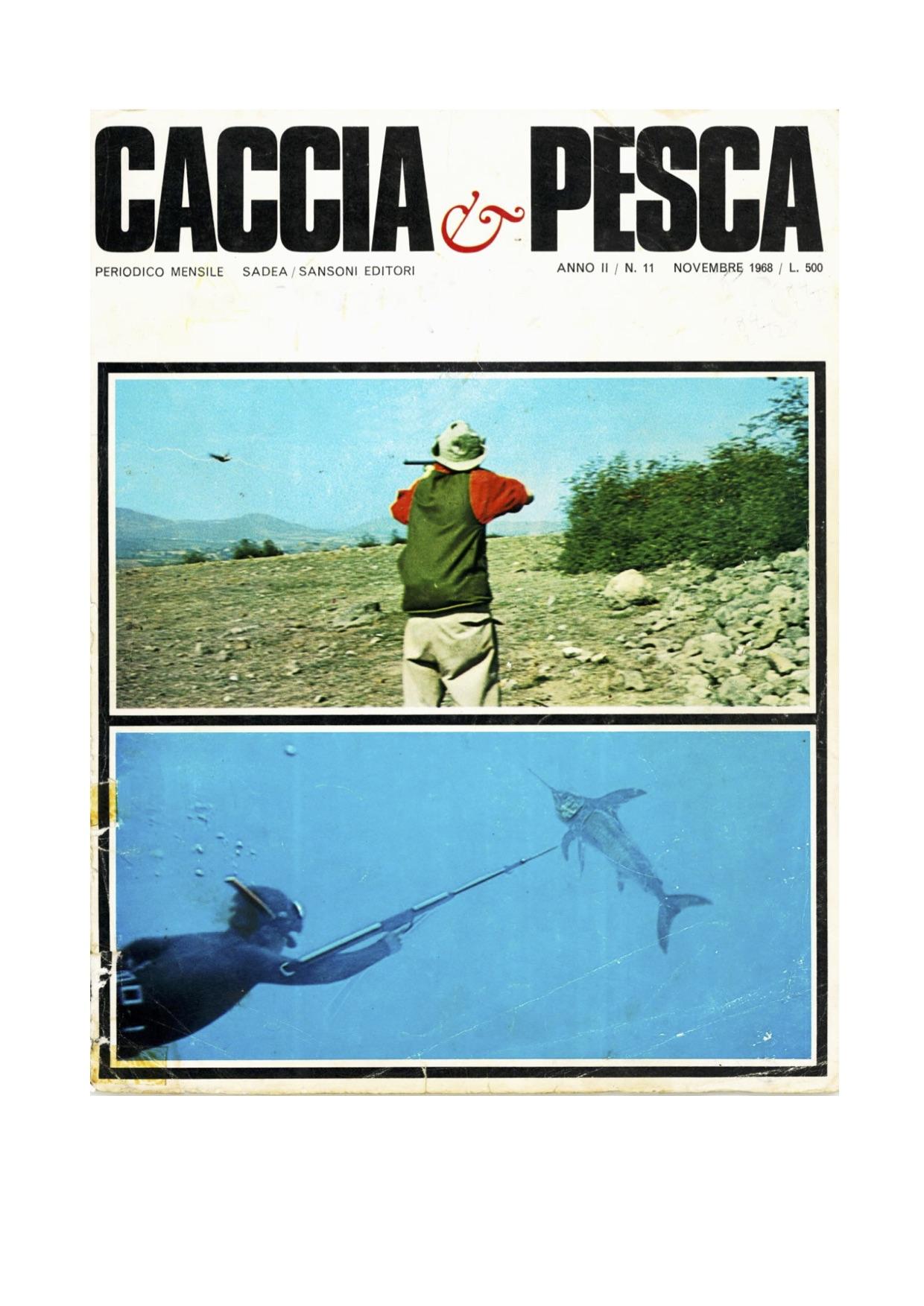 pesce spada rivista caccia e pesca isola del giglio giglionews