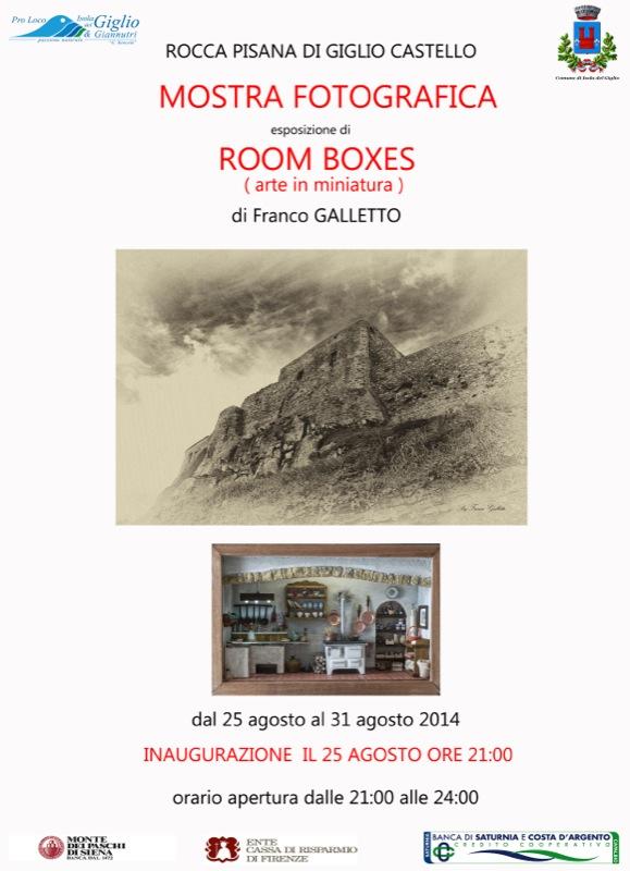 locandina arte in boxes mostra fotografica isola del giglio giglionews
