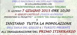 cote ciombella itinerario archeologico preistorico isola del giglio giglionews
